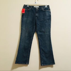 NWT Mossimo Distressed Jeans 16w